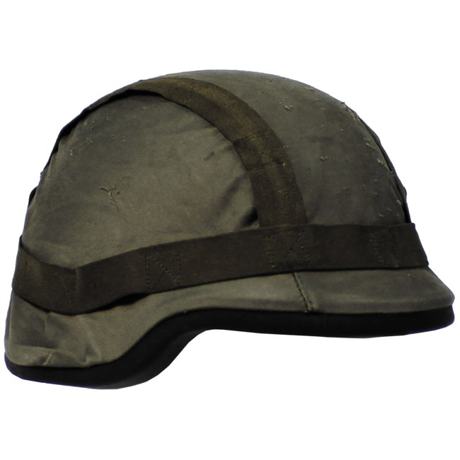 AT Helmet Cover, OD green, used