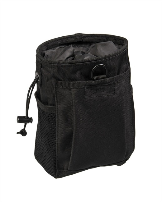 BLACK MOLLE EMPTY SHELL POUCH