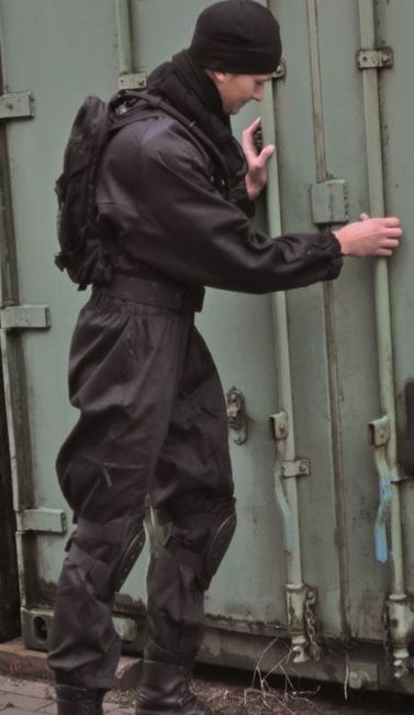BLACK SWAT COVERALL