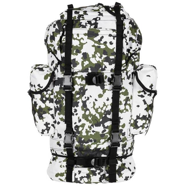 BW Combat Backpack, large, snow camo, Mod.