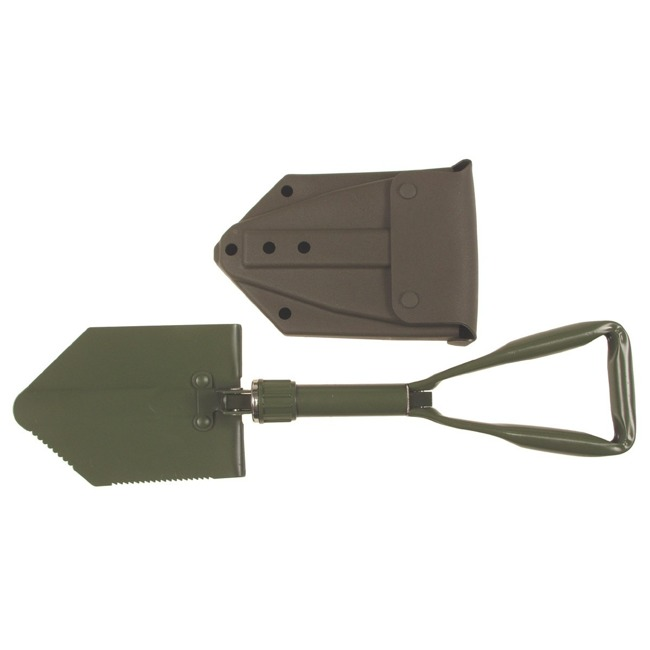 BW Folding Shovel, with plastic cover