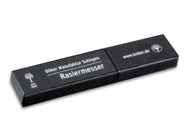 Böker Barberette Black Straight Razor