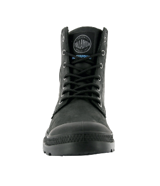 Boots - Palladium - PAMPA CUFF WP LUX BLACK
