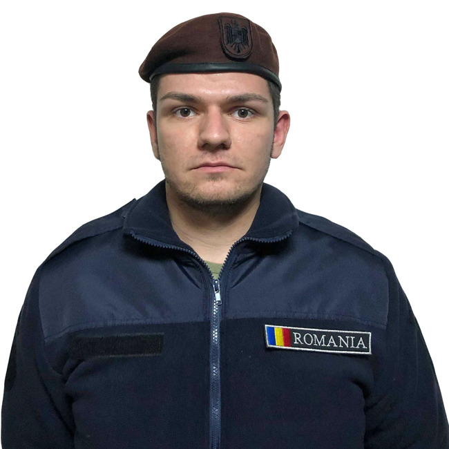 Brown Beret with velcro Insignia