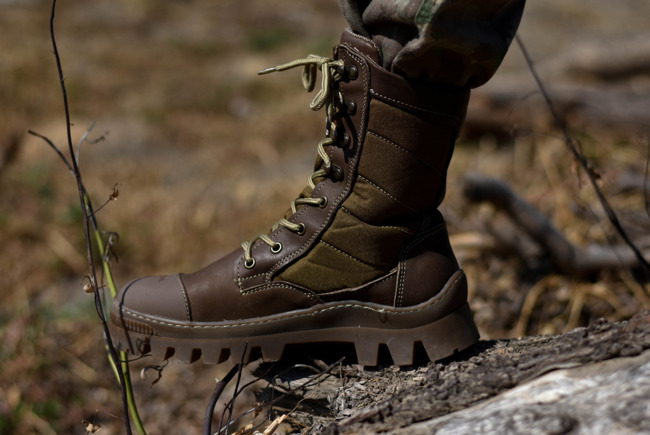Brown Winter Boots Viking - Combat