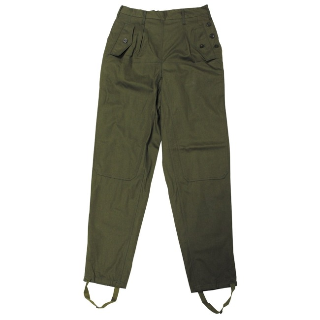 CZ/SK Pants, M 85, OD green, like new