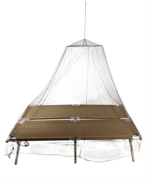 DOUBLE JUNGLE MOSQUITO NET WITH BAG - OD  - MILTEC