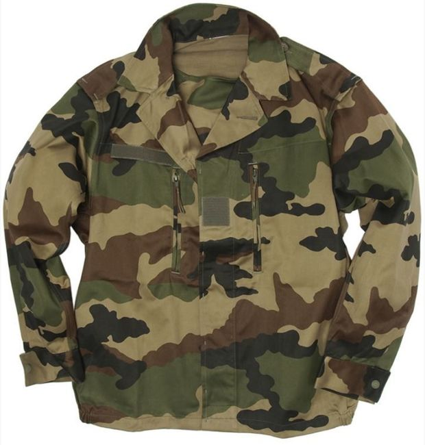 FRENCH GENUINE CAMO CCE F2 FIELD JACKET