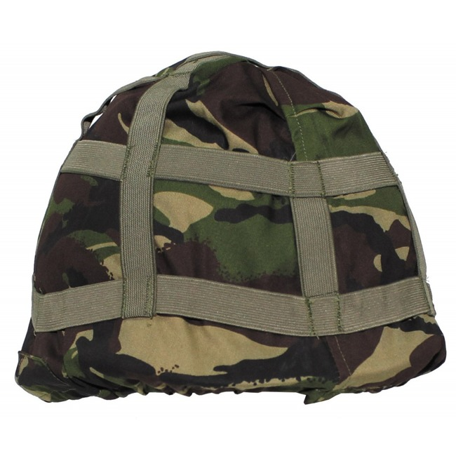 GB Helmet Cover, DPM camo, used