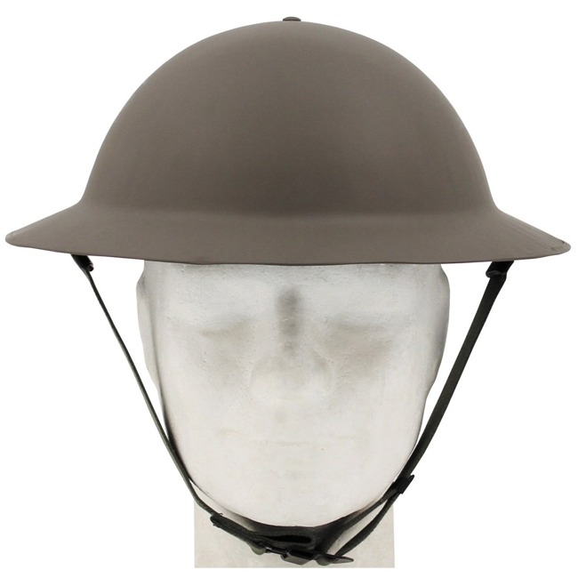 GB Tommy Helmet, WW II, OD green