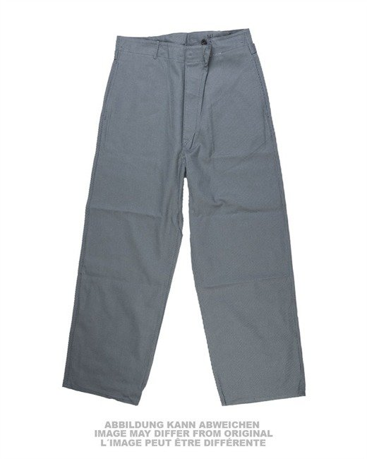 GERMAN GREY WORK PANTS ACID-RESISTANT USED