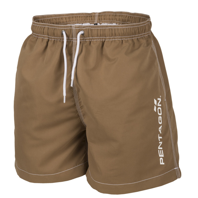 HIPPOCAMPUS Swimming PANTS-SHORTS-Coyote