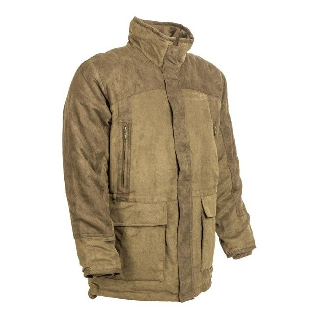 M-TRAMP HERNE MICROCORD HUNTING COAT - GREEN