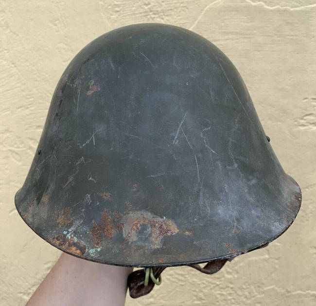 M73 Helmet, Cold War Era, Romanian Army Surplus, used condition