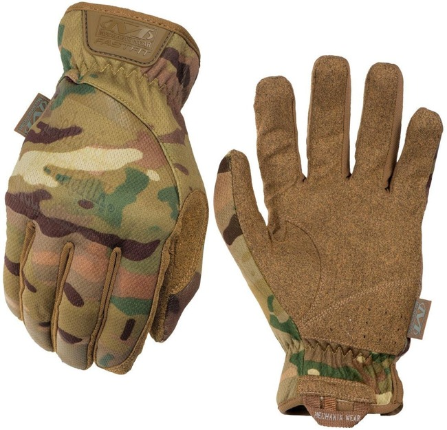 MECHANIX FAST FIT GLOVES MULTICAM