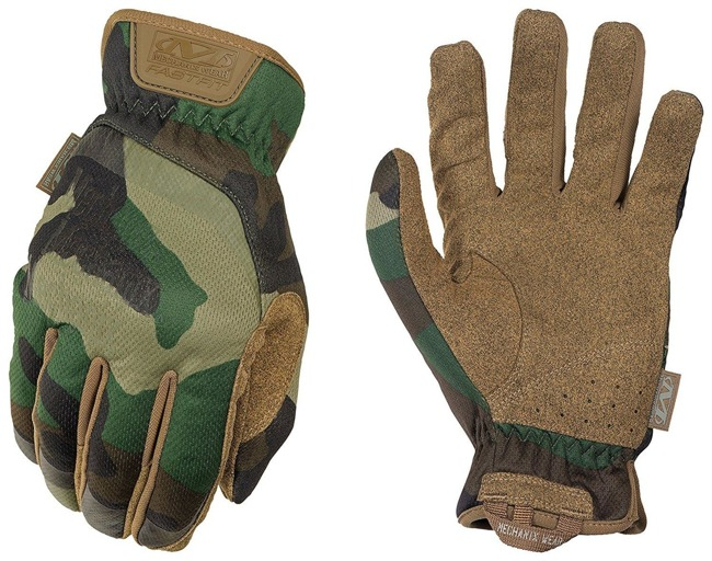 MECHANIX FAST FIT GLOVES WOODLAND CAMO
