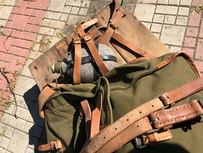 Military haversack - RSR Romanian army
