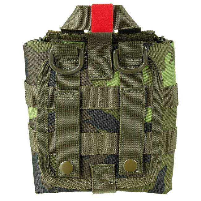 "POUCH FIRST AID SMALL ""MOLLE"" - M95 CZ CAMO - MFH"