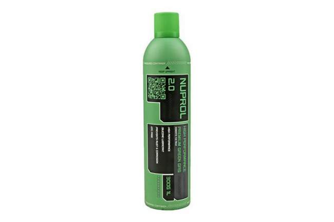 Recipient gaz Nuprol 2.0 - Green gas - 300g - WE