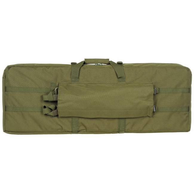 Rifle Bag, OD , lined, for 2 rifles
