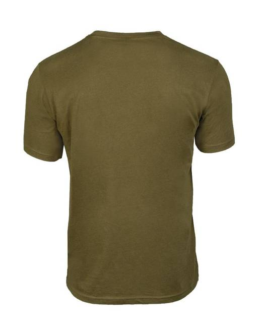 T-SHIRT WITH PRINT ′ARMY′ - OD - MILTEC