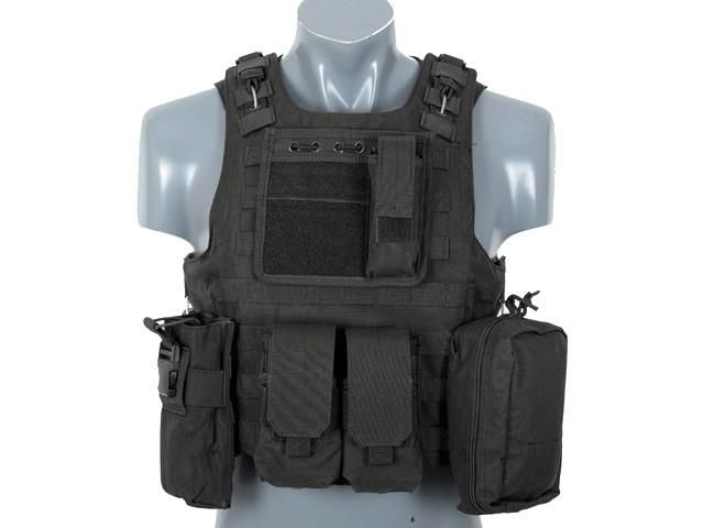 Tactical Vest Airsoft AAV FSBE - Black