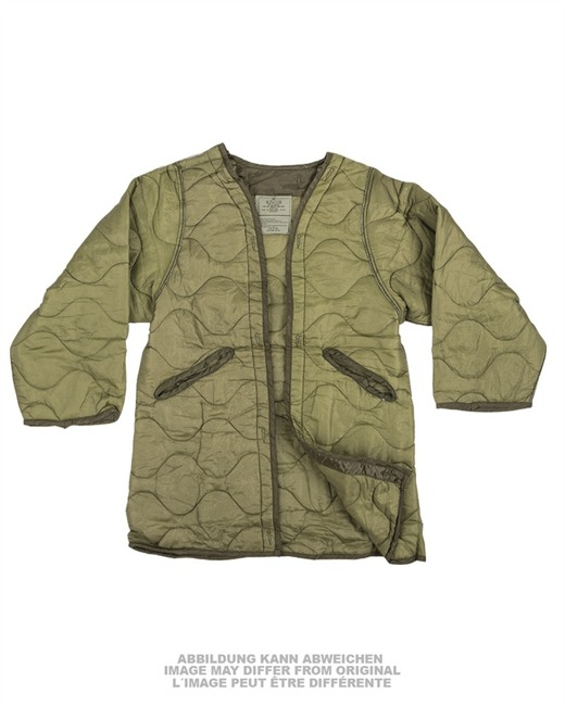 US NIGHT DESERT QUILTED LINER F. PARKA LIKE NEW