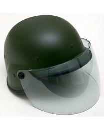 US PASGT SWAT Helmet  - GREEN with shield
