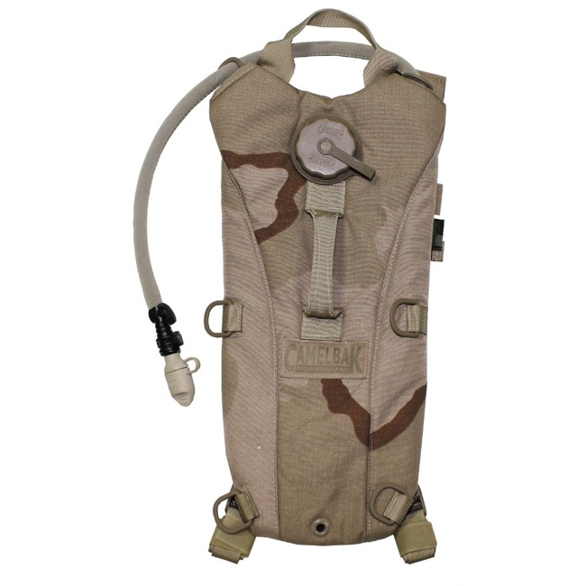US hydration system, CAMELBAK, 3 col desert, used