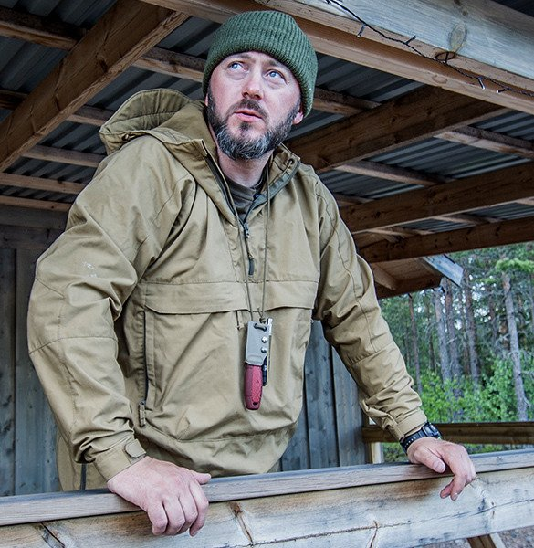WOODSMAN Anorak Jacket® - Black Taiga Green
