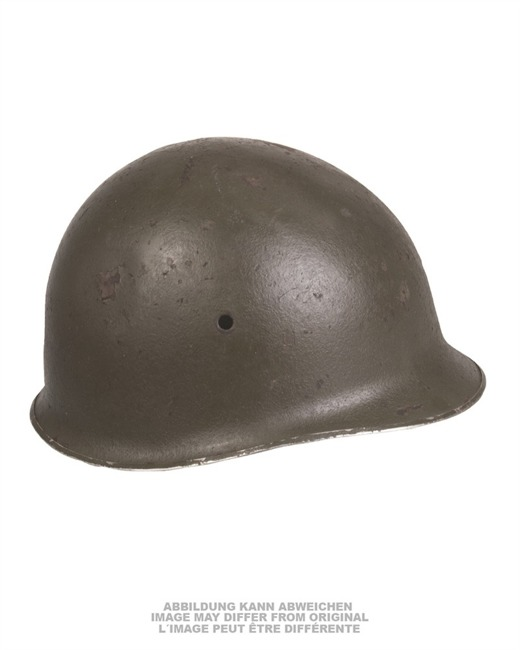 West-German Paratrooper Helmet, post WWII, without liner, used - Miltary Surplus