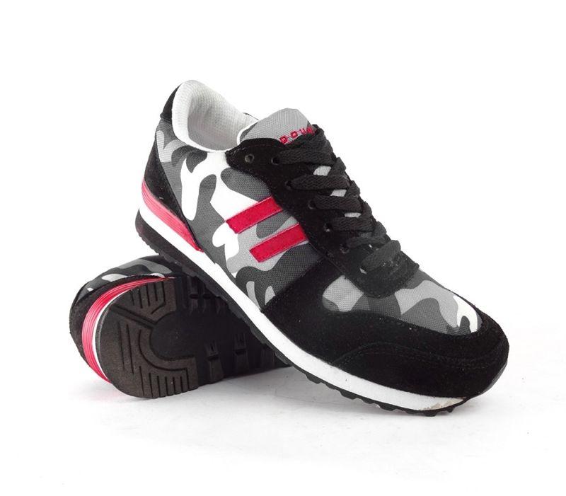B W teniszcipő – Double Red Fekete  7e05337b45