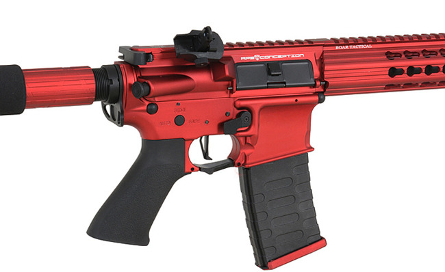 Replica riffle gun ASR119X Demolition Rifle EBB Full-Metal - Red/Black [APS]