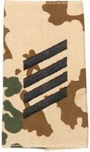EMBLEMA - GERMAN ARMY TROPICAL CAMO/BLACK SHOULDER LOOPS ´STABSGEFREITER´