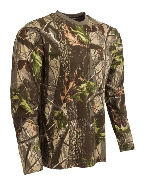 M-Tramp Herne Long Sleeve tricou verde-hardwood