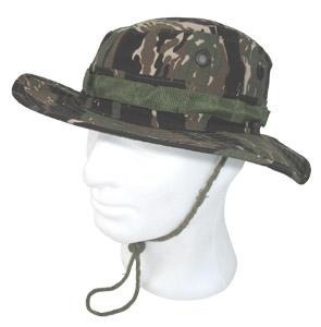 Palarie BUSH US JUNGLE ARMY (RIP-STOP) TIGER STRIPE CAMO