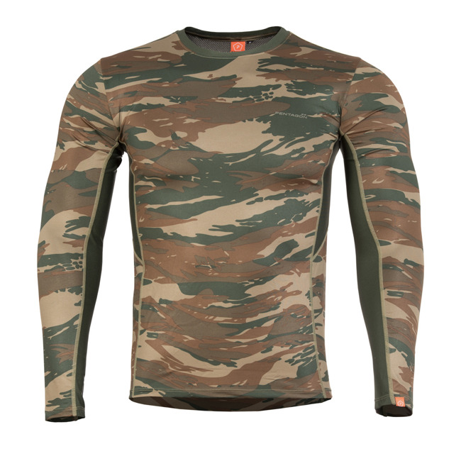 Tricou maneca lunga APOLLO ACTIVITY WOODLAND