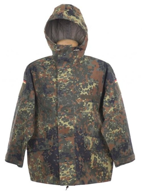 GEACA GENUINE GERMAN ARMY FLECKTARN CAMO GORETEX